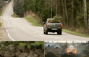 Mitsubishi L200: как мы восстанавливали лес